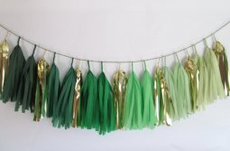 Ombre garland, by StudioMucci on etsy.com