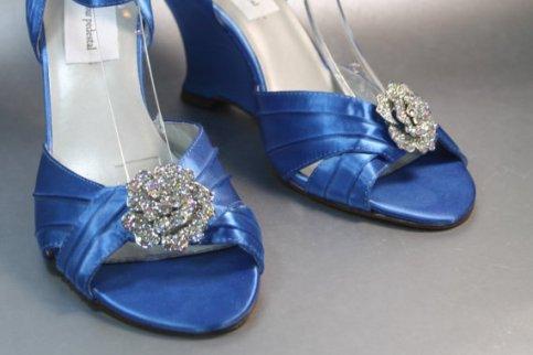 Wedding heels, by DesignYourPedestal on etsy.com