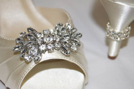Wedding heels, by Parisxox on etsy.com
