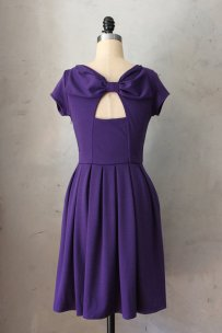 Bow-back bridesmaid dress, by FleetCollection on etsy.com