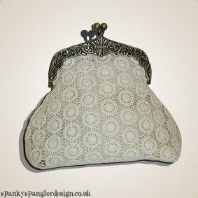 Clutch purse, by spankyspanglerdesign on etsy.com