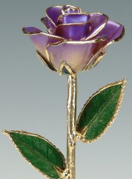 Real Rose Dipped in Gold, by UsGoldRose on etsy.com