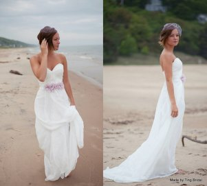 Wedding gown, by TingBridal on etsy.com