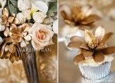 Blush and copper wedding inspiration {via blog.karentran.com}