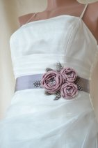 Bridal sash, by elitewomen on etsy.com
