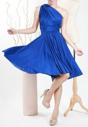 Bridesmaid dress, by BlueberryEBoutique on etsy.com