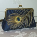 Clutch purse, by Paulownias on etsy.com