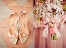 1950s heels and bouquet inspiration {via milakein.blogspot.com