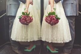 1950s wedding style {via lovemydress.net}