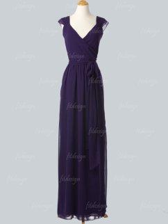 Dark purple bridesmaid dress, by fitdesign on etsy.com