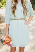 Mint bridesmaid dress, by harsuccthing on etsy.com