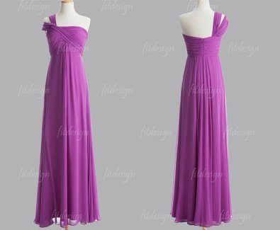 Bridesmaid dress, by fitdesign on etsy.com