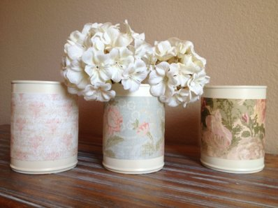 Vases, by TinCanBoutique on etsy.com