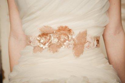 Bridal sash, by CamillaChristine on etsy.com