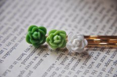 Hair pins, by FawningInLove on etsy.com
