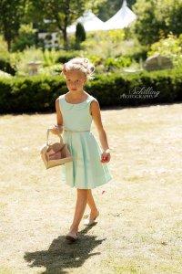 Mint flower girl dress, by MiaLorenBoutique on etsy.com