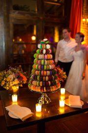 Macaron 'cake' {via snippetandink.com}