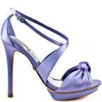 Badgley Mischka lavender heels, from heels.com