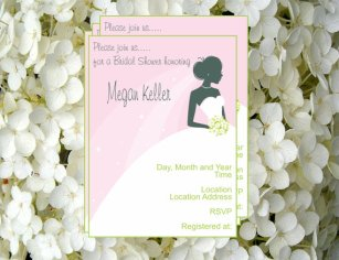 Bridal shower invitation, by JLOriginalDesigns on etsy.com