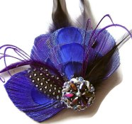 Fascinator, by maggpieseye on etsy.com