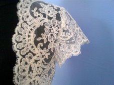 Lace bolero, by neednewclothes on etsy.com