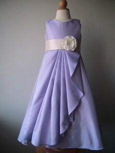 Lavender flower girl dress, by beaneandco on etsy.com