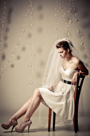 Reception dress, by ShaniBlumenfeld on etsy.com