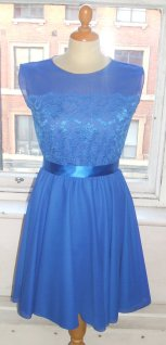 Blue bridesmaid dress - www.etsy.com/shop/BaylisandKnight