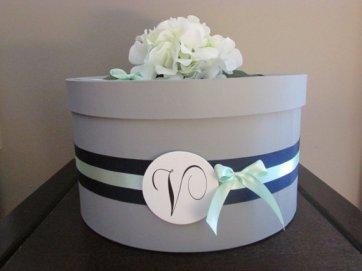 Wedding card box - www.etsy.com/shop/AnArtsyAffair