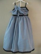 Dusty blue flower girl dress - www.etsy.com/shop/sewsemsem46