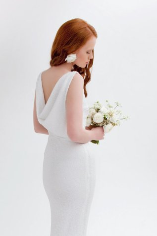 Wedding dress (US$1000) - www.etsy.com/shop/theflowerbride