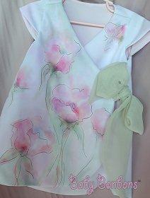 Watercolour flower girl dress - www.etsy.com/shop/Babybonbons