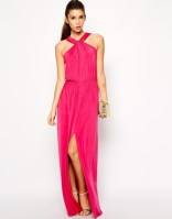 Love Slinky halter neck maxi dress, from asos.com