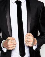 ASOS Black Tie In Velvet, from asos.com