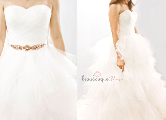 Tulle wedding dress $349 - www.etsy.com/shop/beaubouquet