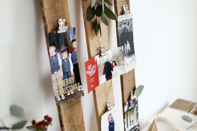 DIY Christmas Card Display The Merrythought