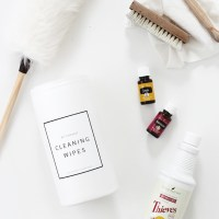 DIY Natural Cleaning Wipes