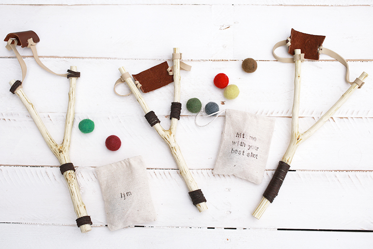 Pom pom catapults - Bored of the same Rakhi gifts - make something personalized for your brother this year to show your love for him. We list 10 Handmade Rakhi gifts for brothers that they will fall in love with. DIY catapults, race tracks, silly putty, paper mache pens, puppets and more.