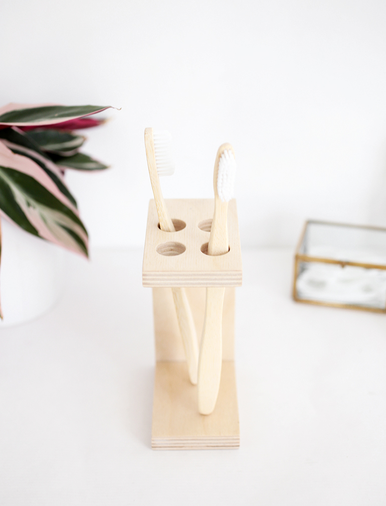 DIY Toothbrush Holder - The Merrythought on Decorative Sconces Don't Need Electric Toothbrush id=20000