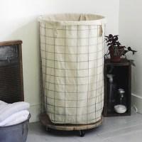DIY Wire Laundry Hamper