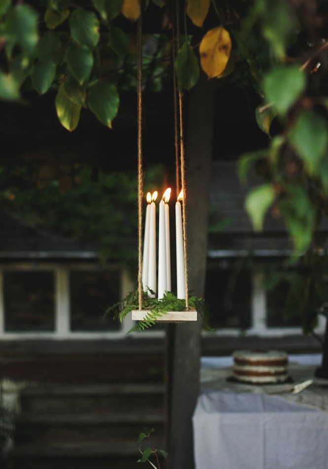 Diy Hanging Candelabra Themerrythought