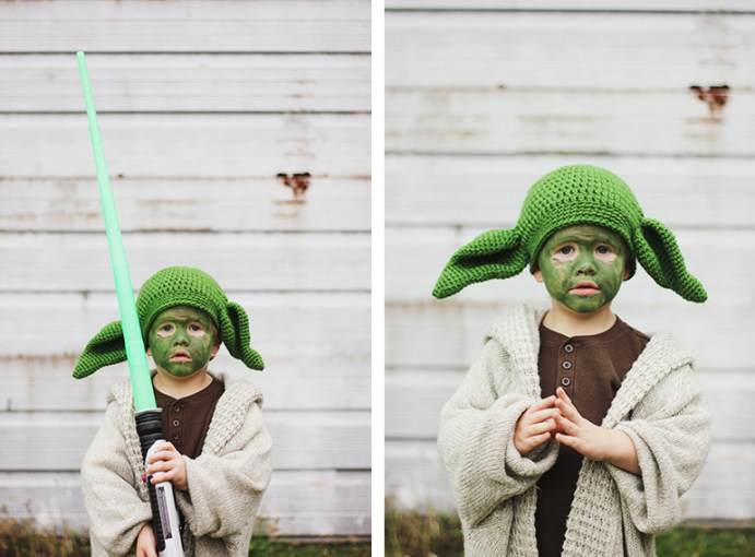 Halloween Costumes    Star Wars   The Merrythought Toddler Yoda Costume    The Merrythought