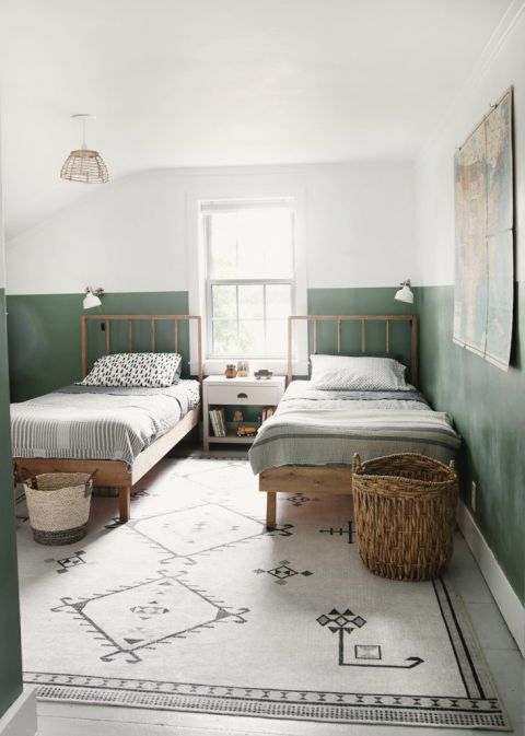 inspiration for a shared boys room