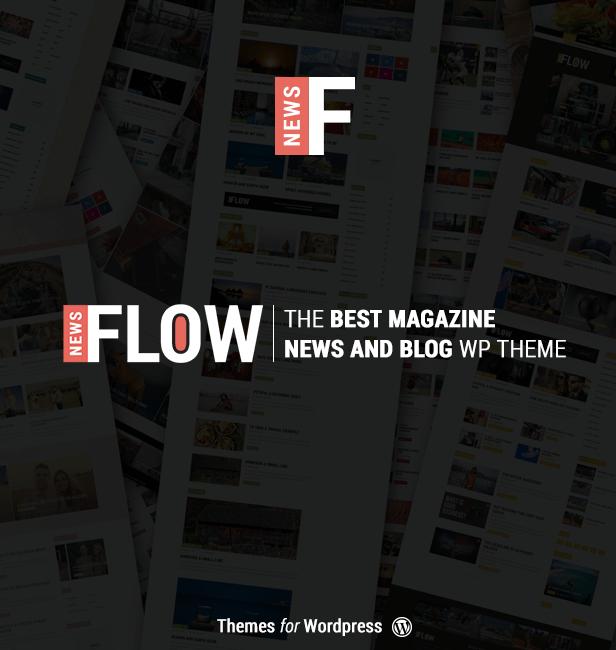 Flow News - Magazine and Blog WordPress Theme - 1