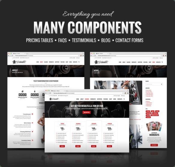 Winner Components