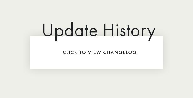 Readme WordPress Theme Changelog