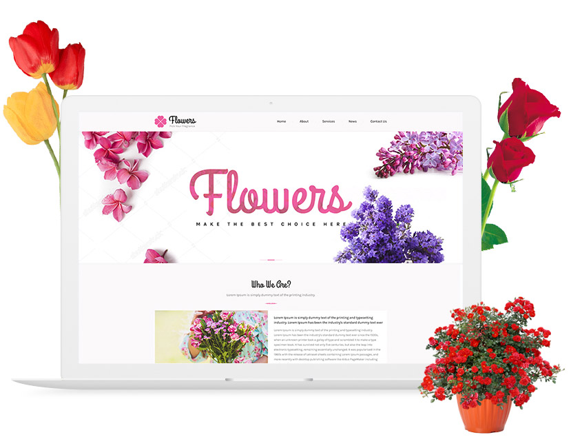 Build Your Florist Website