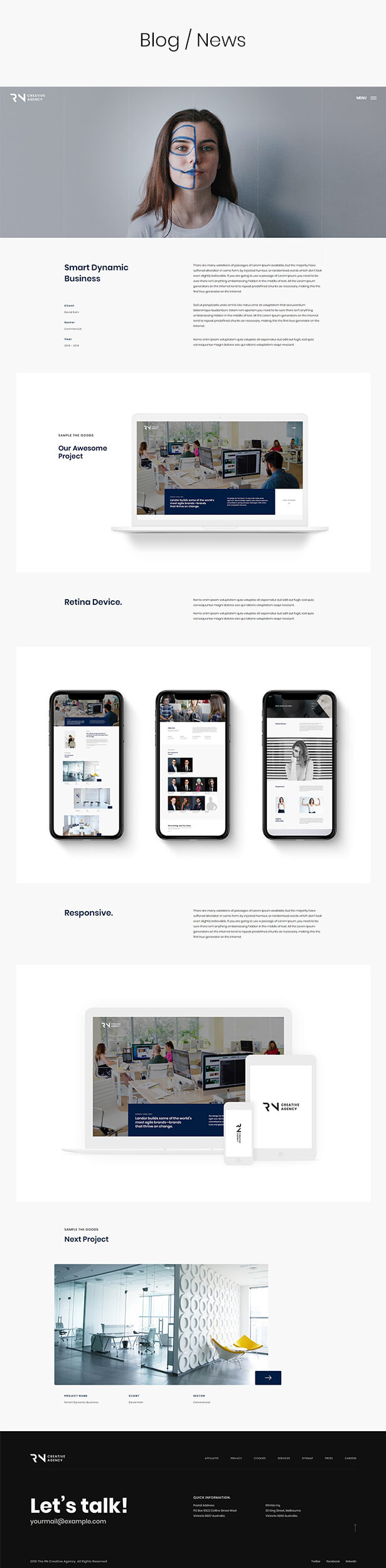 TheRN - Creative Agency React Gatsby Template - 5