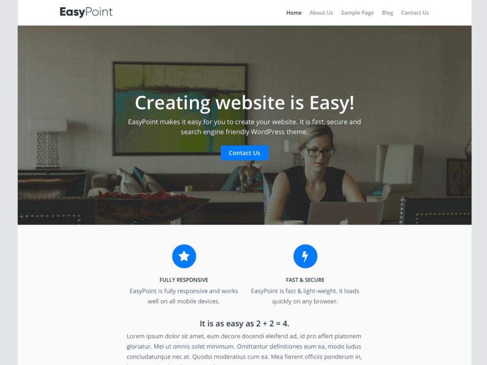 EasyPoint-WordPress-theme-screenshot