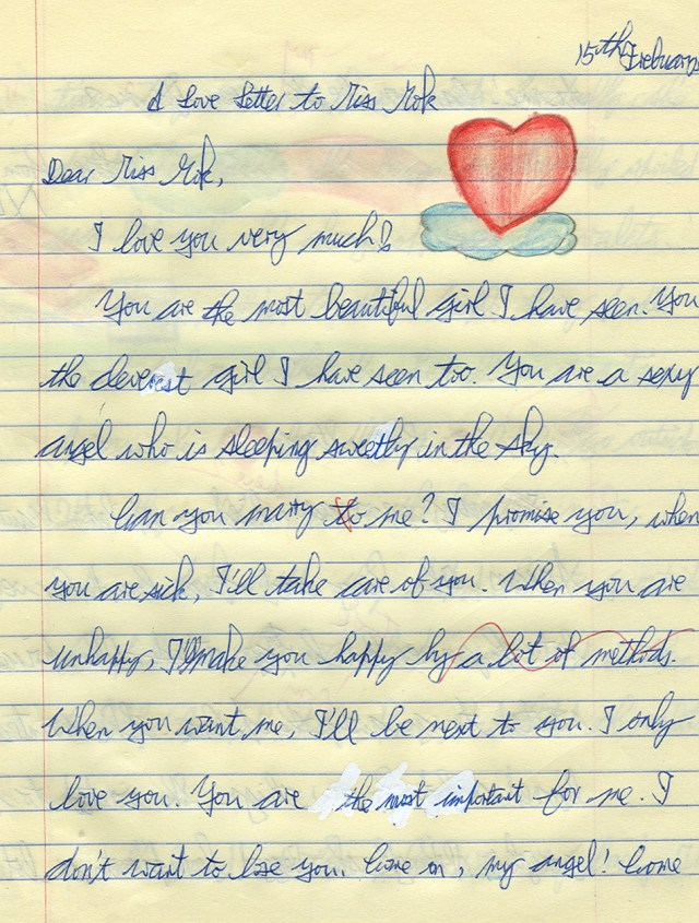 Letters For Him Top 5 Most Romantic